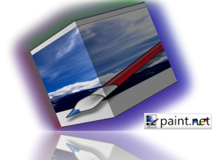 How To Paint Net Reflection